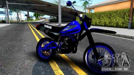 Yamaha DT 125 para GTA San Andreas