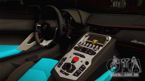 Lamborghini Aventador LP700-4 Liberty Walk LB para GTA San Andreas