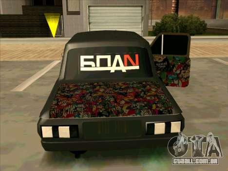 ZAZ 968M Mega-Fazenda para GTA San Andreas