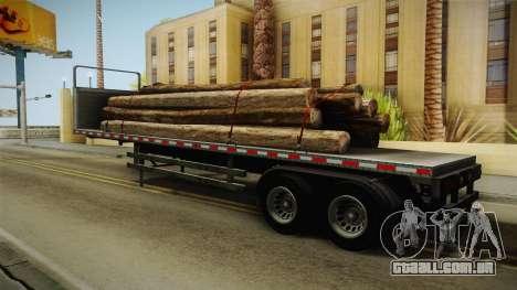 GTA 5 Log Trailer v2 para GTA San Andreas