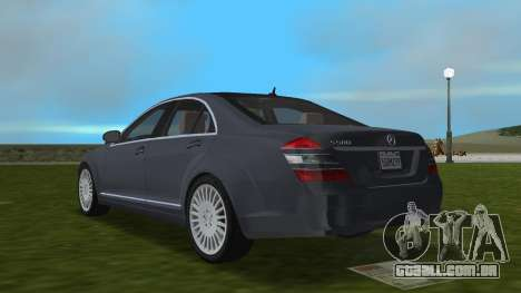 Mercedes-Benz S500 W221 2006 para GTA Vice City