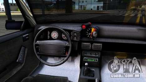 Ford Mustang 1993 para GTA San Andreas vista interior