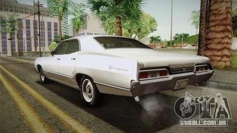 Chevrolet Impala Sport Sedan 396 Turbo-Jet 1967 para GTA San Andreas
