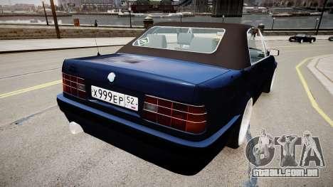 BMW E30 325i 1989 Cabrio para GTA 4