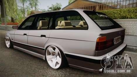 BMW 5 series E34 Touring para GTA San Andreas
