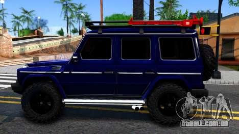 Mercedes-Benz G300 Professional para GTA San Andreas