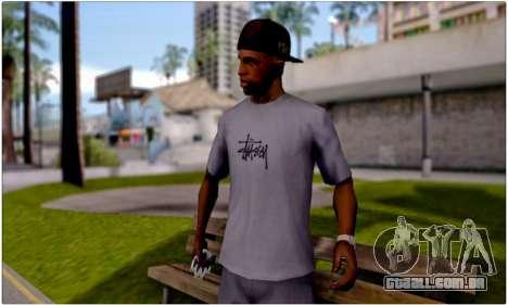T-Shirt Stussy para GTA San Andreas