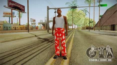 Natal a meias para GTA San Andreas