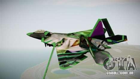F-22 The Joker para GTA San Andreas