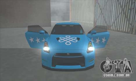 Nissan GTR Egoísta de 2011 (a Bandeira do cazaqu para GTA San Andreas