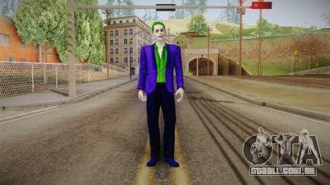 The Joker para GTA San Andreas