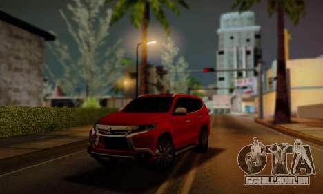 Mitsubishi Pajero Sport 2016 para GTA San Andreas