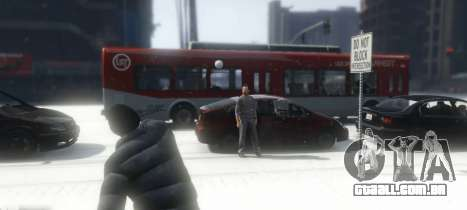 Snowballs in Singleplayer para GTA 5