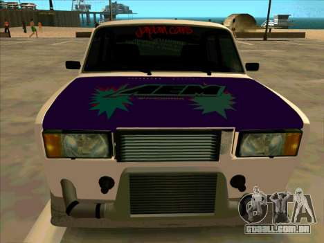 VAZ-2107 Azelow para GTA San Andreas