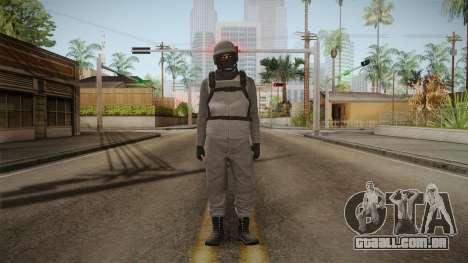 GTA Online Military Skin Grey-Gris para GTA San Andreas