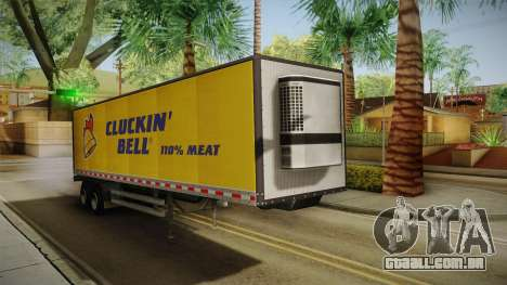 GTA 5 Refrigerated Trailer para GTA San Andreas