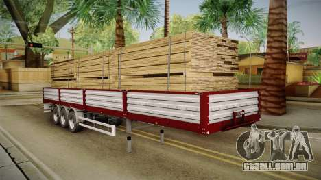 Bort Job Trailer para GTA San Andreas