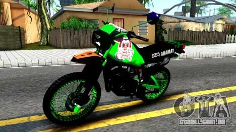Yamaha DT 175 para GTA San Andreas