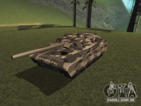 Rhino inverno camo para GTA San Andreas
