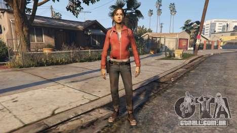 Left4Dead 1 Zoey para GTA 5