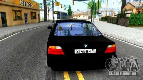 "BMW 750i E38 From ""Bumer"" para GTA San Andreas"