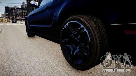 Ford Mustang Shelby GT500 2010 para GTA 4