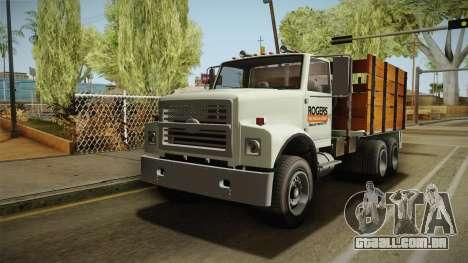 GTA 5 Vapid Scrap Truck Cleaner v2 para GTA San Andreas