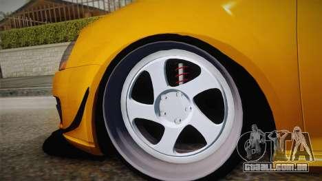 Volkswagen Golf 5 Stance para GTA San Andreas