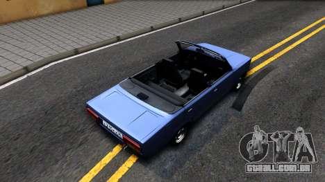 VAZ 2105 V2 conversível para GTA San Andreas