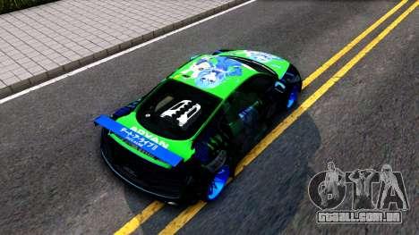 Audi R8 V.1.0 Itasha Yoshino Hermit DAL LWP para GTA San Andreas