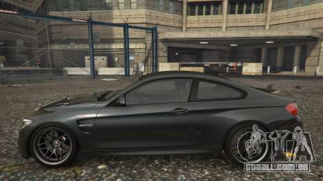 GTA 5 BMW M4 F82 2015 vista lateral esquerda
