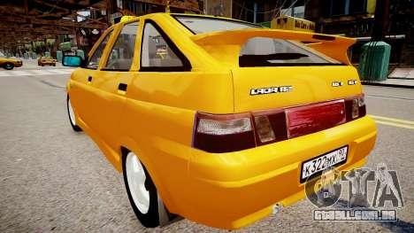 VAZ 2112 de Táxi para GTA 4