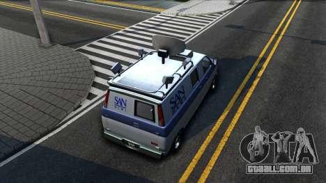 GTA V Declasse Burrito News para GTA San Andreas