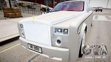 Rolls-Royce Phantom EWB Dragon Edition 2012 para GTA 4
