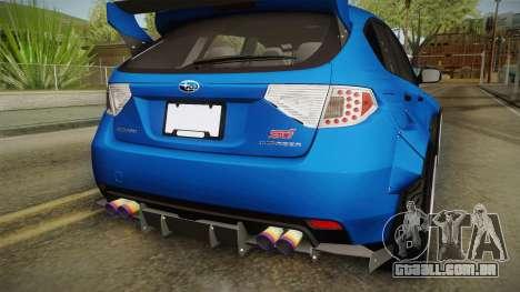 Subaru Impreza WRX STI Rocket Bunny para GTA San Andreas
