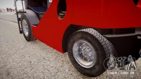 Toyota Forklift (v2.0) para GTA 4
