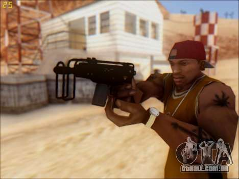 GTA 5 Hawk & Little Mini SMG para GTA San Andreas