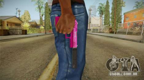 GTA 5 Combat Pistol Pink para GTA San Andreas
