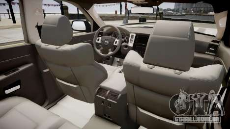 Jeep Grand Cherokee SRT8 v.1.1 para GTA 4