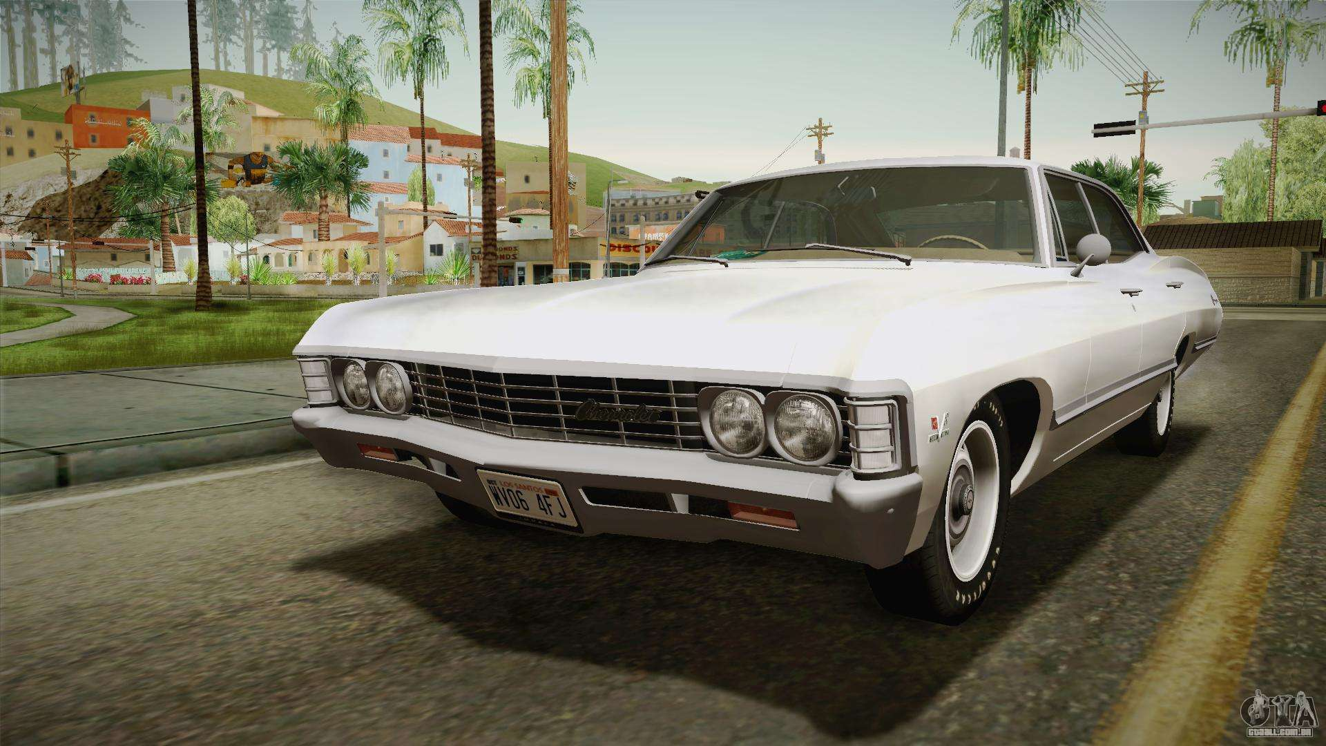 Chevrolet Impala Sport Sedan 396 Turbo Jet 1967 Para Gta San Andreas