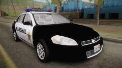 Chevrolet Impala 2007 Las Barrancas Marshal para GTA San Andreas