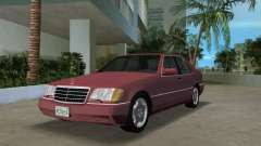 Mercedes-Benz 400SE W140 1991 para GTA Vice City