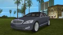 Mercedes-Benz S500 W221 2006 para GTA Vice City