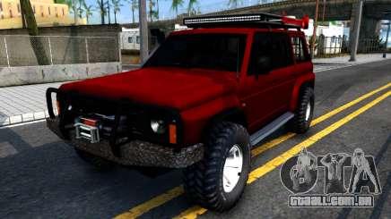 Nissan Patrol Y60 Off-road para GTA San Andreas