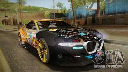 BMW CSL Hommage R 2015 GSR Project Mirai para GTA San Andreas