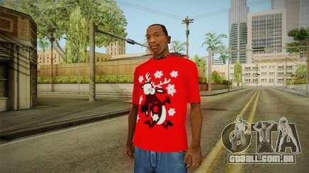 T-shirt com um Cervo para GTA San Andreas