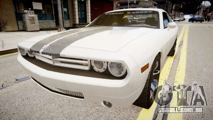 Dodge Challenger Unmarked Police Car para GTA 4