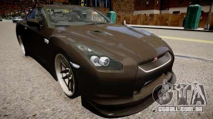 Nissan R35 GT-R para GTA 4