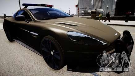 Aston Martin Police para GTA 4