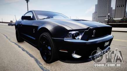 Ford Mustang Shelby GT500 2010 para GTA 4